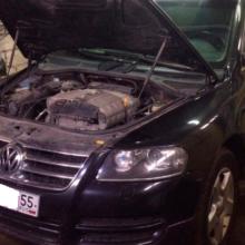 Ремонт и замена пневмобаллона на автомобиль WV Touareg
