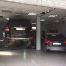 Ремонт пневмоподвески на Mercedes GL и Audi Allroad