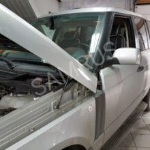Ремонт и замена переднего пневмобаллонана а/м Land Rover Range Rover Vogue
