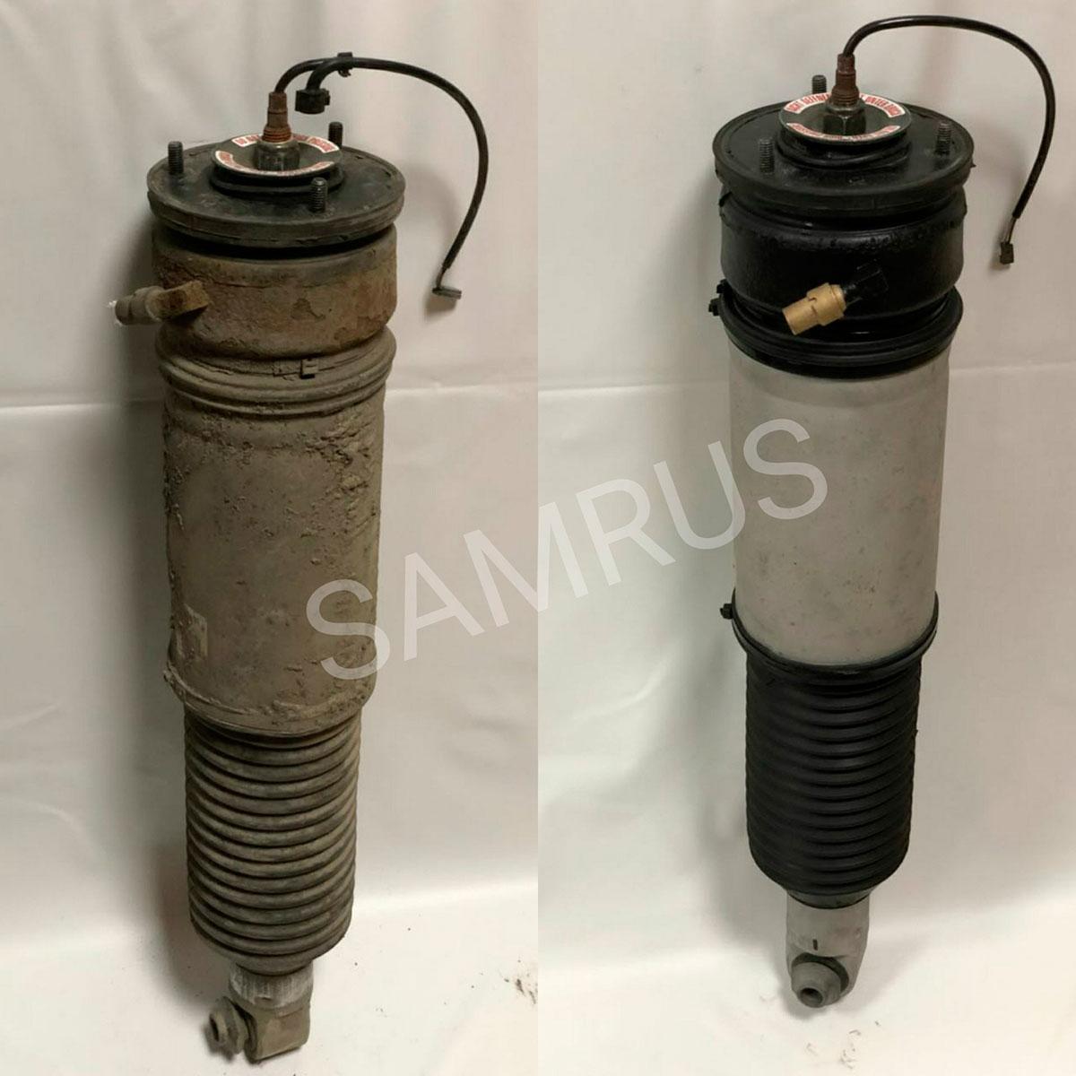 восстановленная пневмостойка на автомобиль BMW7 E65/Е66/67